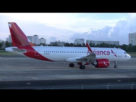 Aeroparque Terrace REOPENED! 1 HOUR+ Of Plane Spotting @ San Juan Airport (SJU)