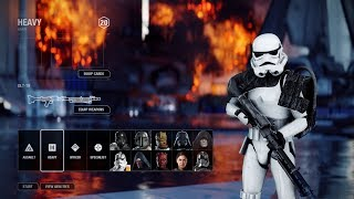 NEW Spawn Screens with No Hologram mod | Star Wars Battlefront II