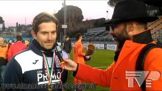Finale Coppa Italia Eccellenza S.Marco Avenza-Badesse 2-1 Interviste