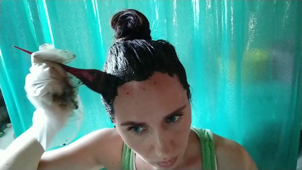 Как красить хной и басмой | Покраска волос натуральными красителями | Хна и басма