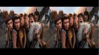 THE CROODS - Official Trailer 2 in 3D