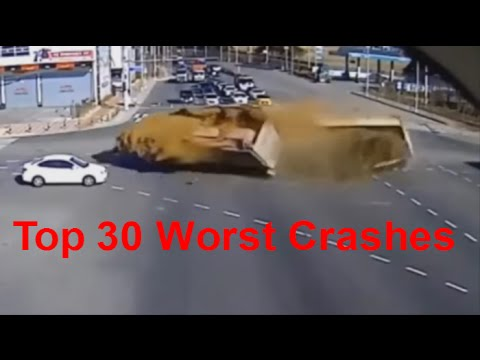Top 30 Worst Car Crashes - Car Crashes of the worst kind. Deadly Car Crashes - Extreme Car Crashes