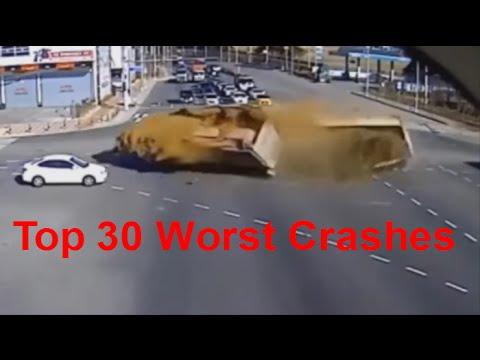 Top 30 Worst Car Crashes - Car Crashes of the worst kind. Deadly Car Crashes - Extreme Car Crashes