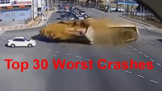 Repeat youtube video Top 30 Worst Car Crashes - Car Crashes of the worst kind. Deadly Car Crashes - Extreme Car Crashes