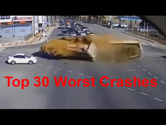 Top 30 Worst Car Crashes Car Crashes Of The Worst Kind Deadly Car Crashes Extreme Car Crashes