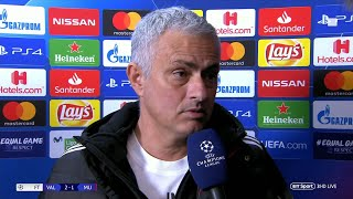 """We scored twice and lost 2-1!"" Mourinho reacts to Man Utd"