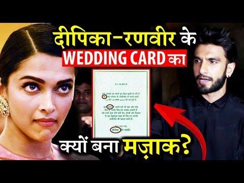 Why People Trolling Deepika Padukone-Ranveer Singh's Wedding Card? Mp3
