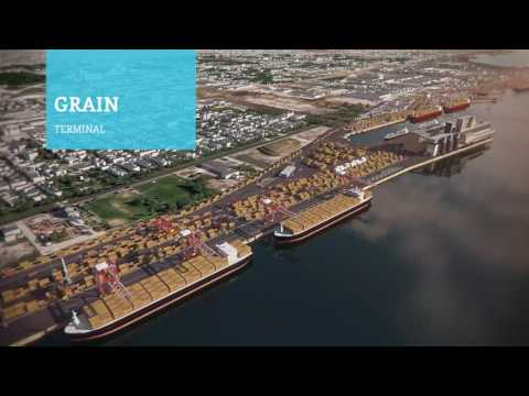 Port of Montreal 3D video