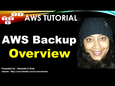 aws-tutorial---aws-backup---overview