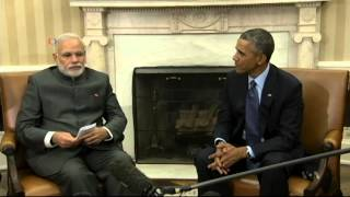 India's PM Continues First US Visit