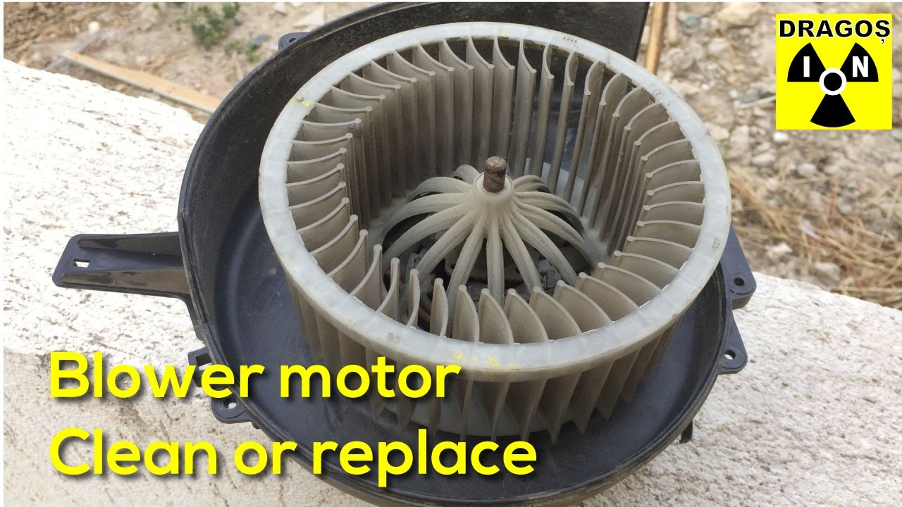 Vw polo 9n heater noisy blower motor replacement or for Furnace blower motor noise