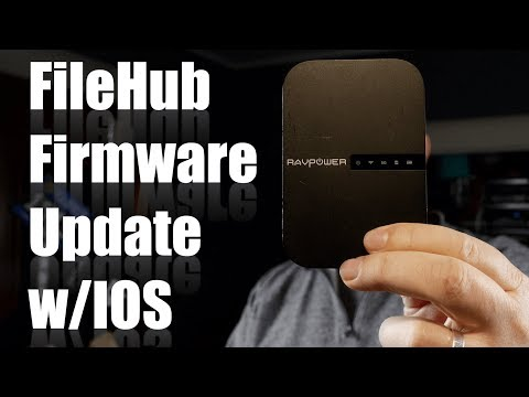Updating The FileHub Firmware From Your IPhone Or IPad