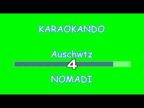 Karaoke Italiano - Auschwitz - Nomadi ( Francesco Guccini ) (testo)