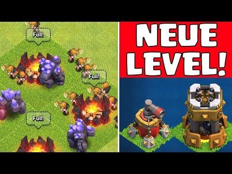 CLASH OF CLANS ☆UPDATE!☆  || Neue Level & mehr! || Let's Play CoC || Sneak Peek #1