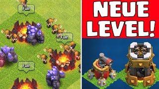 CLASH OF CLANS ☆UPDATE!☆    Neue Level & mehr!    Let's Play CoC    Sneak Peek #1