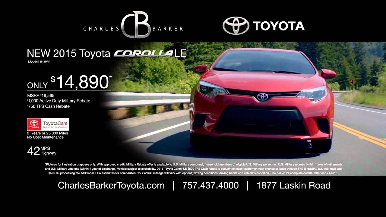Toyotathon Is On At Charles Barker Toyota   Save On Toyota Camry And Corolla