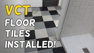installing our vct tile floors