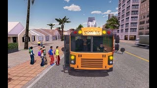 School Bus Game Pro