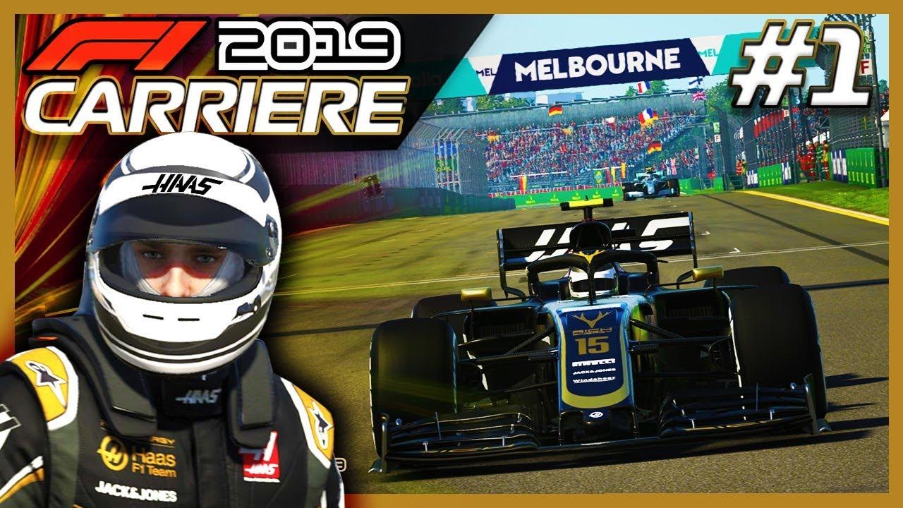Download F1 2019 Mode Carrière S1E01: L'AVENTURE EN F1 COMMENCE