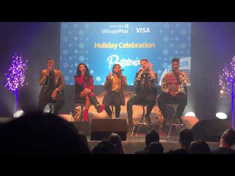 Pentatonix LIVE singing