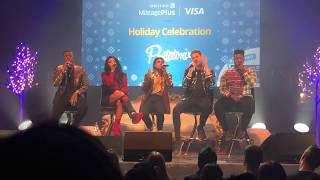 My favorite song that they performed. Pentatonix - PentatonXMAS Hol...
