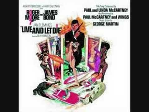 and Let Die James Bond Theme