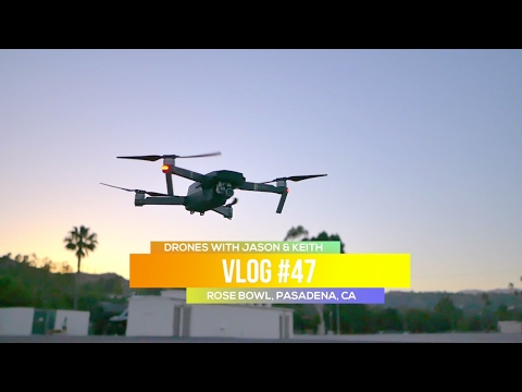 ROSE BOWL WITH DJI MAVIC PRO | Pasadena, California - One Drone w/ Two Controllers