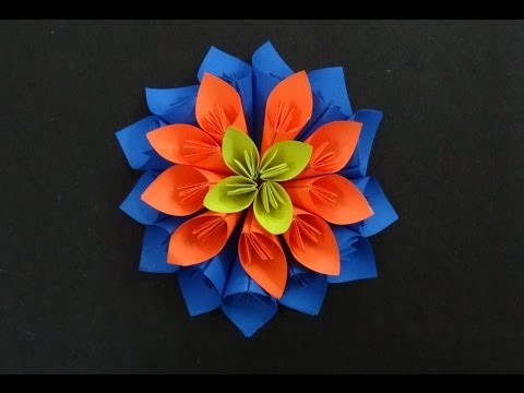 How to make paper flower 3gp video download