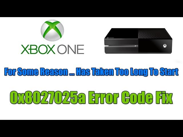 Xbox One – For Some Reason … Has Taken Too Long To Start