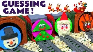 thomas and friends toy trains christmas play doh jingle bells fun family friendly guessing game tt4u
