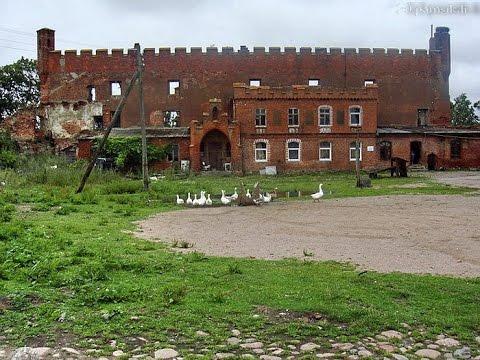 Развалины старого замка 13 века. Один из самых хреновых копов.Кенигсберг.