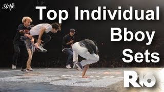 top individual bboy sets strife r16 world finals 2013