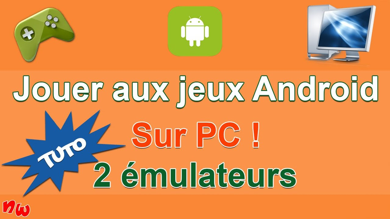 tuto jouer aux jeux android sur pc 2 mulateurs youtube. Black Bedroom Furniture Sets. Home Design Ideas