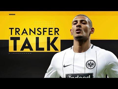 West Ham close in on signing Sebastian Haller from Eintracht Frankfurt! | Transfer Talk