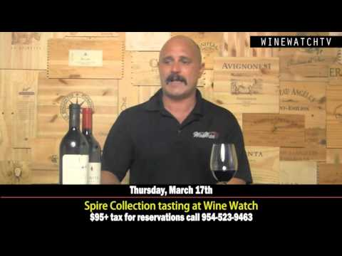 Spire Collection Tasting feat. Cardinale, Verite, Lajota at Wine Watch - click image for video