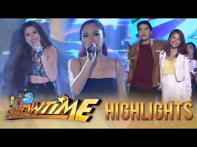 It's Showtime: Morissette, Jessica Sanchez and McLise team up to give an exciting performance