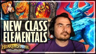 THESE ELEMENTALS ARE PREEETY GOOD! - Hearthstone Battlegrounds