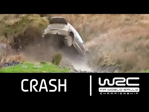 WRC - Wales Rally GB 2015: CRASH Latvala