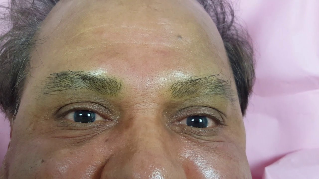 Male Eyebrows 3d Realism Microblading by El Truchan @ Perfect Definition