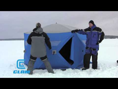 Clam Six Pack Ice Shelters