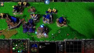 Warcraft 3 RT #139 (2v2) Human - Human vs Undead - Orc [Deutsch/German] WC 3 TfT by DPoR LP