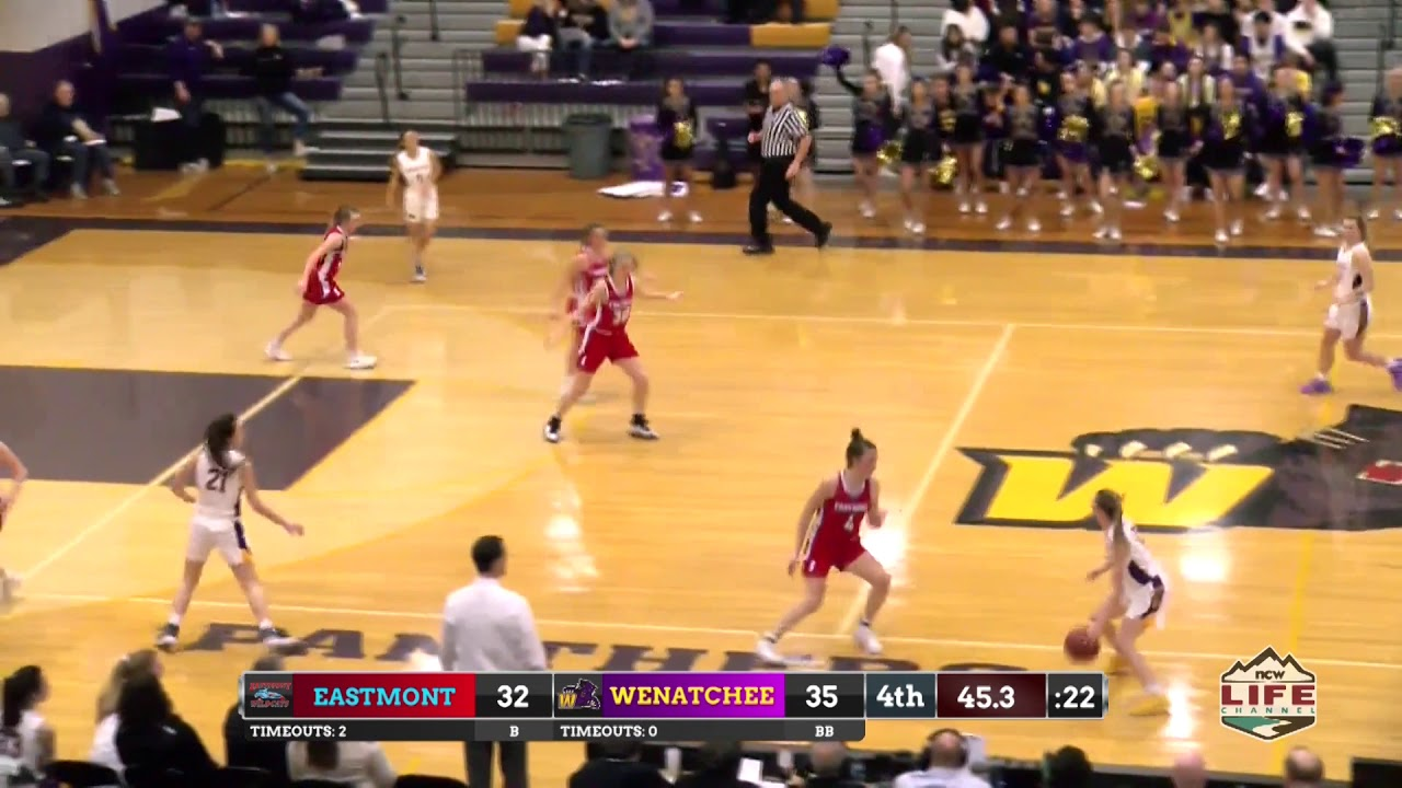 Eastmont vs Wenatchee Girls Basketball Highlights 2020-02-01