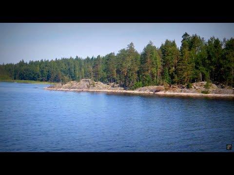 Cruising Saimaa, Finland, Punkaharju - Kongonsaari Aug 2013 Крейсерская озеро Сайма