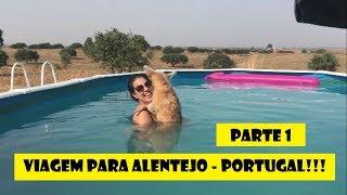 VIAGEM POR PORTUGAL, ALENTEJO - PARTE 1