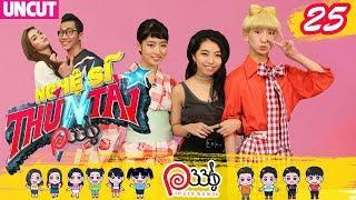 NGHỆ SĨ THỬ TÀI P336 | Tập 25 UNCUT | Nhóm nhạc Nhật Tempura Kidz méo mặt trước món ăn Việt Nam 😰