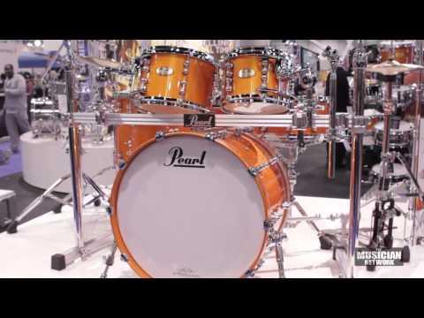 Pearl - NAMM 2013 - Booth Walkthru (Raw Footage)