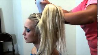 Braided Hair - How to prepare for Cheerleading Competition Jupiter, FL