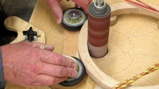 Inside Diameter Sanding Jig Part 1 -- Making Accurate Wood Rings
