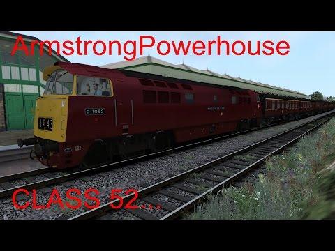 Train simulator 2015 - ArmstrongPowerhouse class 52 |