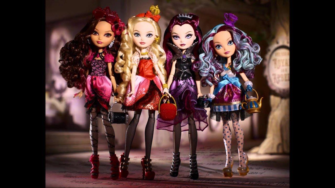 MATTEL OFFICIAL Ever After High Dolls Wave 1 YouTube